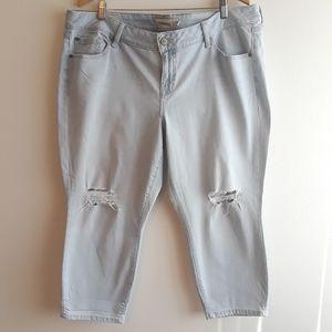 Torrid | skinny distressed/destroyed jeans